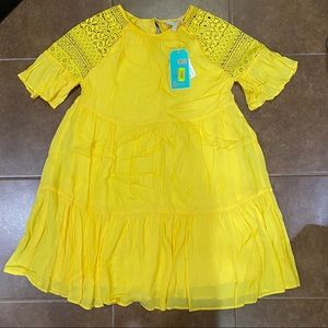 GB Yellow Baby Doll Dress